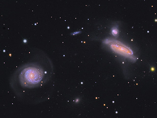 NGC 7771 Galaxy Group