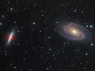 Галактические войны, M81 против M82