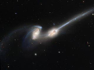 NGC 4676, когда мышки сталкиваются