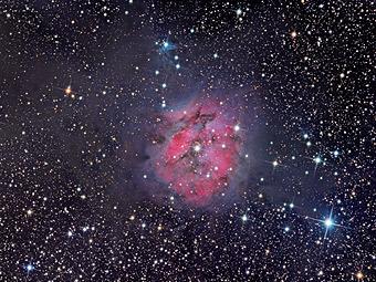 IC 5146_туманность Кокон