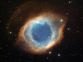Туманность Улитка: вид из обсерватории Ла Силла