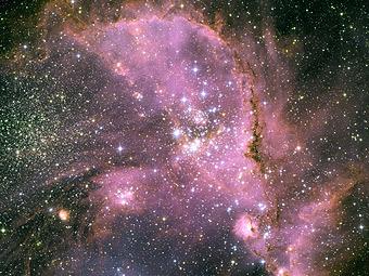 Молодые звезды в NGC 346