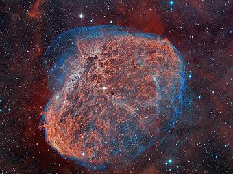 NGC 6888: туманность Полумесяц