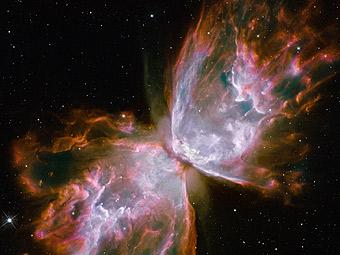 Туманность Бабочка в обновленный космический телескоп