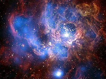 NGC 604: рентгеновское излучение гигантской области звездообразования
