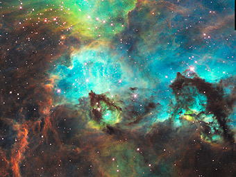 Морской конек в Большом Магеллановом Облаке