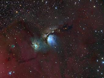 Широкое поле около M78