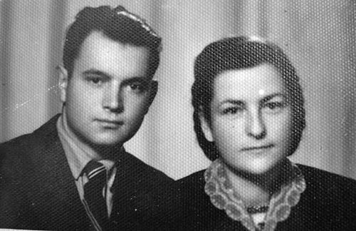мои отец Алексей и мать Мария в молодости