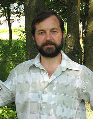 Георгий Козулько в Беловежской пуще, 2004 г.