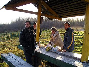 Во время FSC лесной сертификации, Витебская область, 2006 г.