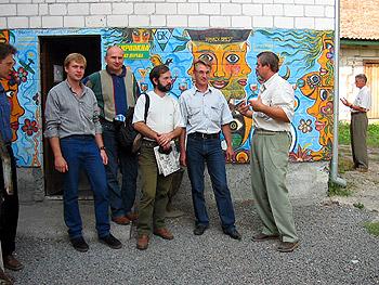 Вместе с брестскими социал-демократами, 2005 г.