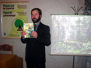 Презентация книги в Беловежской пуще, 2007 г.