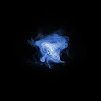 Крабовидная туманность в рентгеновском диапазоне излучения
