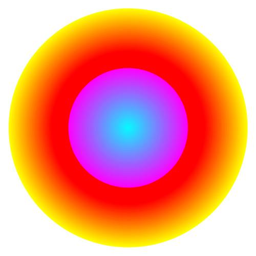Иллюзия расширения кругов