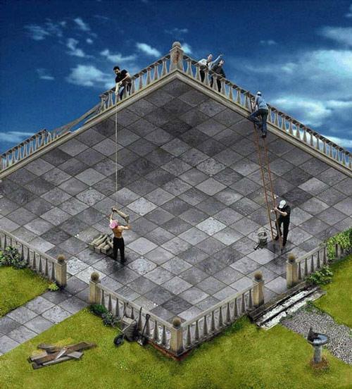 Иллюзии восприятия глубины