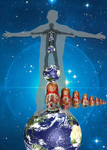 Вселенная-человек. Изображение взято с блога http://blogs.mail.ru/mail/nikolaisorokin1962/