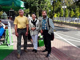 С брестскими коллегами во время семинара по развитию НГО, Польша
