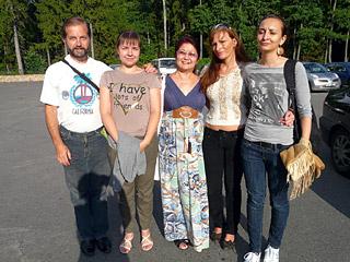 В Беловежской пуще во время экскурсии с мудрыми женщинами