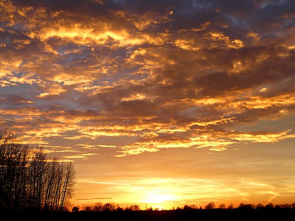 Закат солнца 28.20.2013