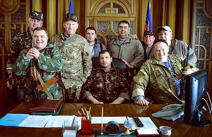 Боевики-ополченцы Донбасса