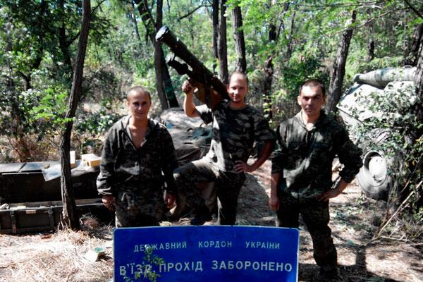 Диверсанты-военные из России хвалятся своими подвигами на Донбассе