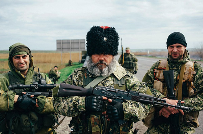 русский боевик ДНР