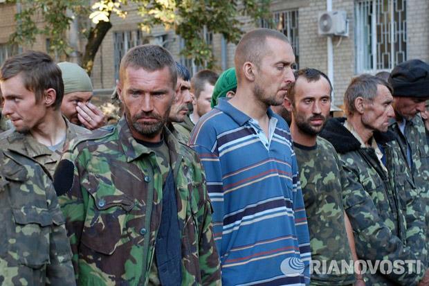 военнопленные украинские