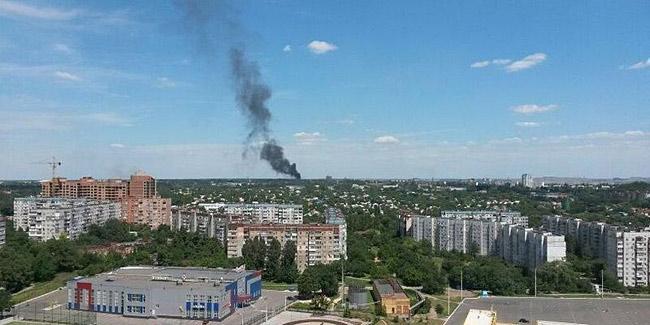 Донецк разрушения