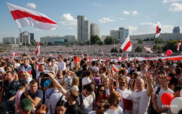Самый массовый митинг в истории Беларуси