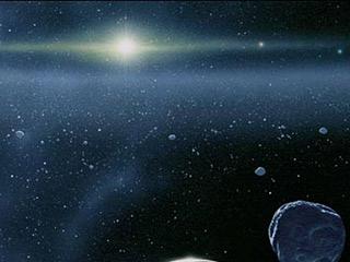 Возможно, так выглядит Солнечная система из Облака Оорта. Фото с сайта 'Проект Исследование Солнечной системы', http://galspace.spb.ru/