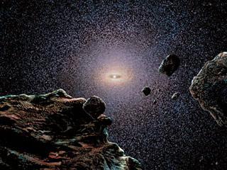 Возможно, выглядит Солнечная система из Облака Оорта. Фото с сайта 'Мир Науки и Культуры', http://nature.web.ru/