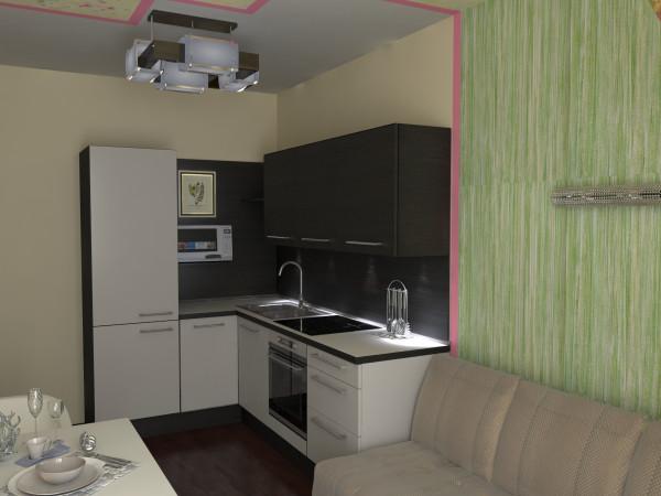 Фото дизайна гостиной 12 кв.м