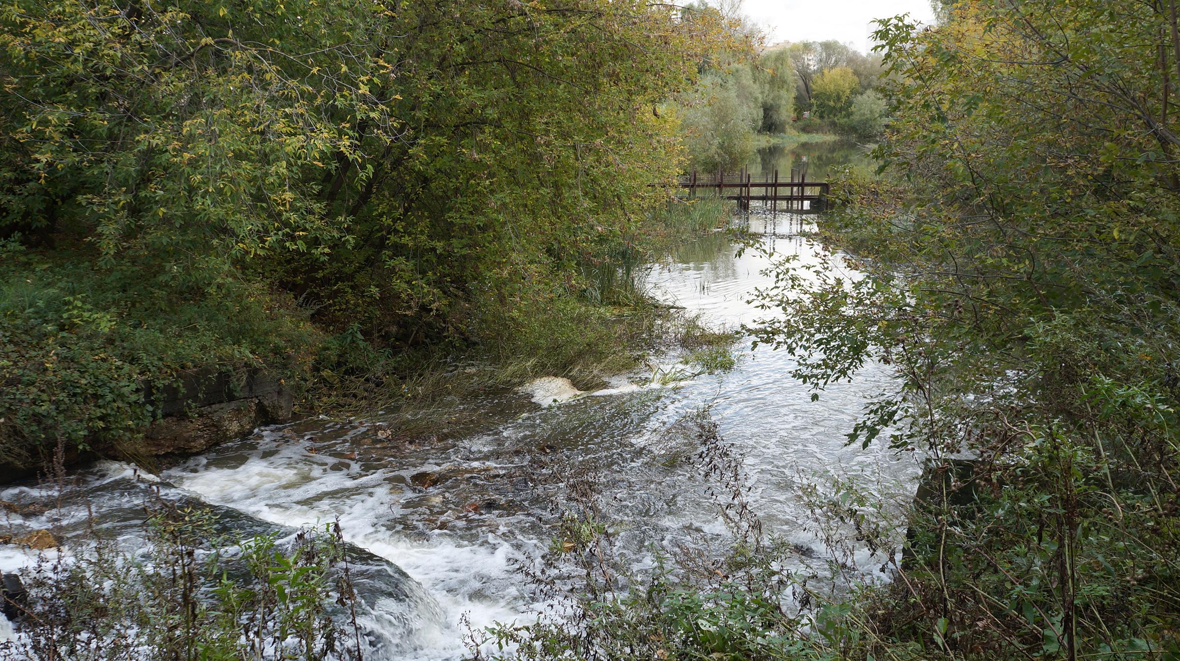 Плотина бывшего рыбхоз