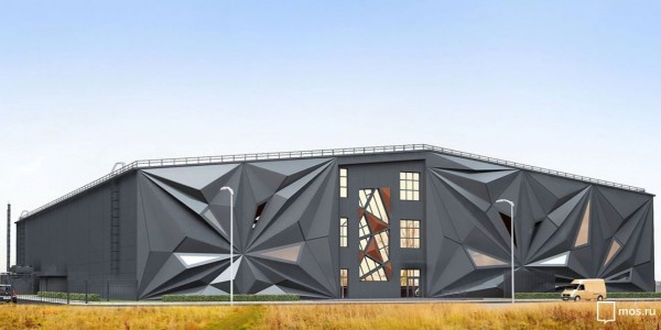 Новый ледовой дворец в ТиНАО украсит Первопрестольную современной архитектурой в стиле аниме
