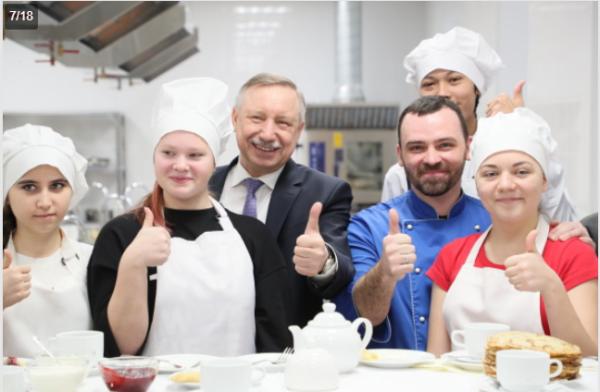 Смольный проверил работу  центра дополнительного профессионально-технического образования на ВО СПб