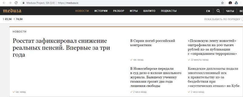 «Медуза» пропагандирует эмиграцию и это работает: её сотрудники массово эмигрируют в Россию
