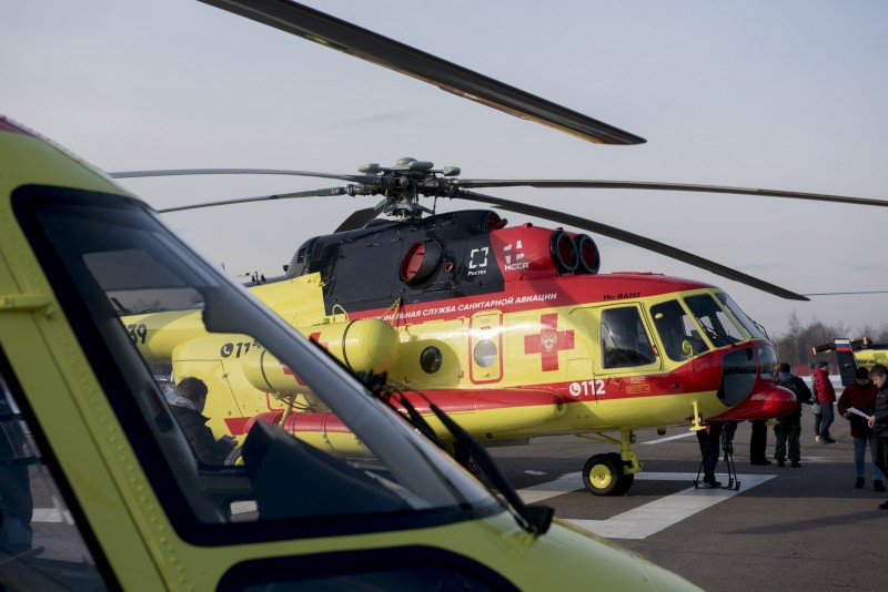 Воздушная медицинская помощь России будет передвигаться на вертолетах
