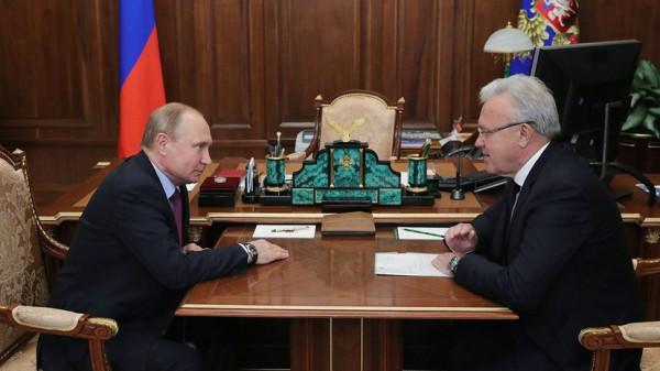 Президент Путин открыл Красноярскую Универсиаду и пообщался с краевой администрацией