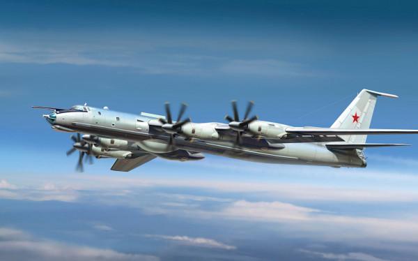 Штатные учения самолетов Ту-142: потенциальный противник обнаружен и уничтожен