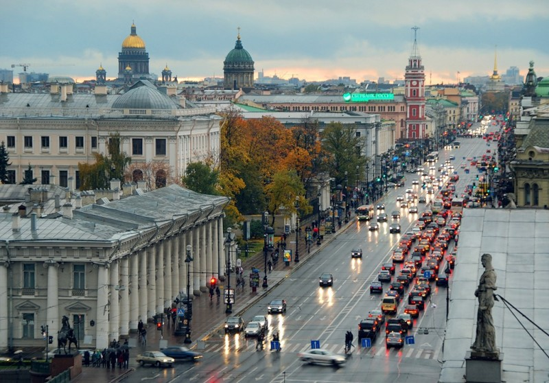 В Северной столице отремонтируют все исторические фасады архитектурных памятников