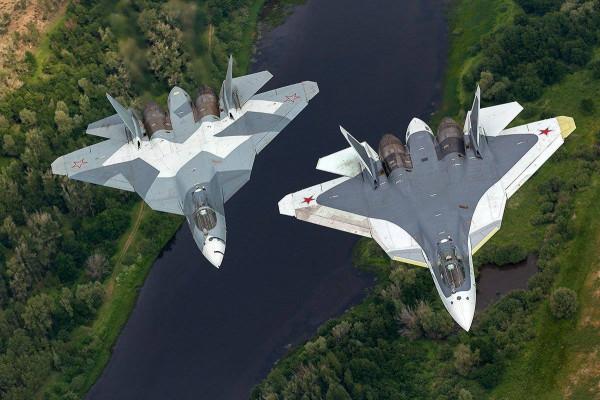 Крымское небо будут прикрывать истребители пятого поколения Су-57