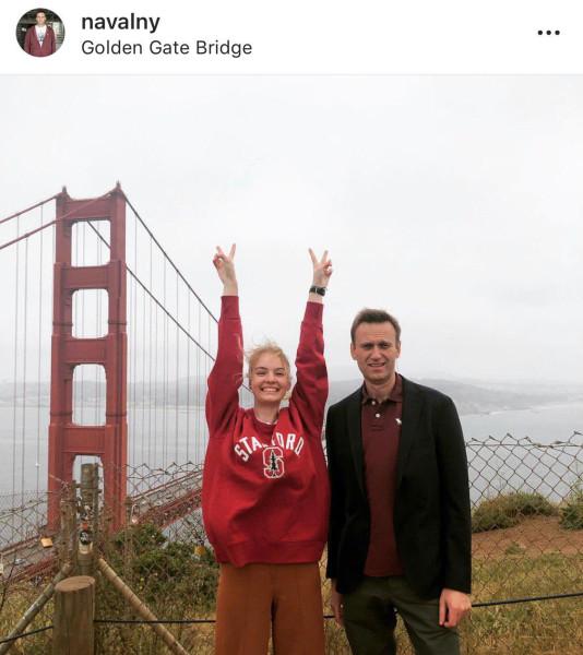 Дочка Навального будет учиться в американском Стэнфорде за биткоины