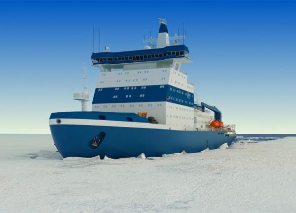 Материалы для атомных ледоколов «Лидер» испытают в Арктике