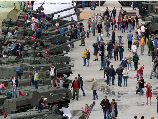 На форуме «Армия-2019» были побиты собственные рекорды