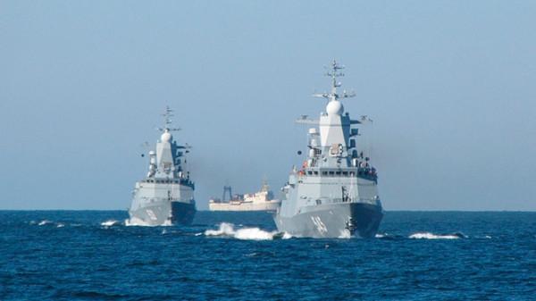 На Балтике ВМФ РФ проводит масштабные маневры «Океанский щит - 2019»