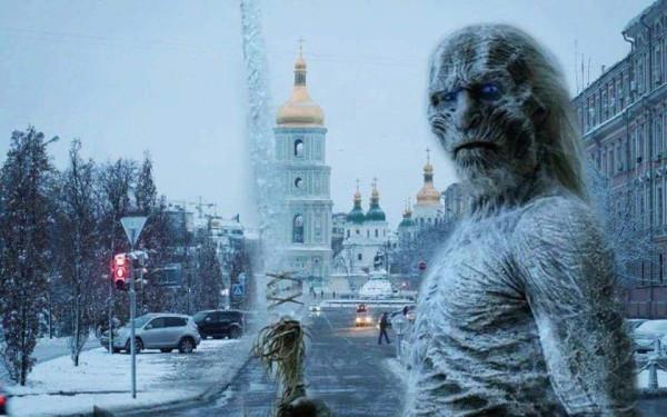 Безгазовая «зима близко» – очередной сезон про белых ходоков на Украине