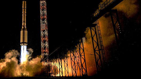 Российская ракета удачно стартовала с космодрома Байконур