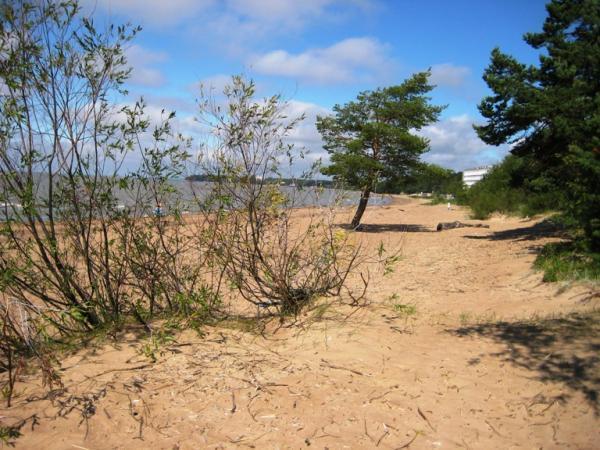 пляж в пенатах