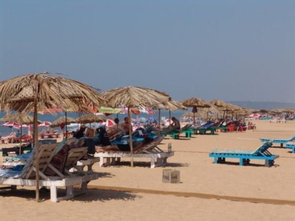 пляж северный