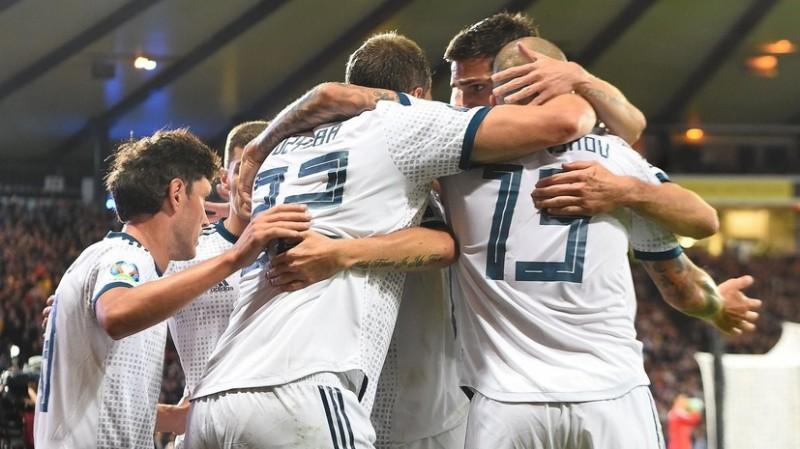 Завершился отборочный матч Евро-2020 между сборными России и Шотландии